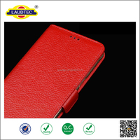 Genuine Cellphone leather wallets mobile case for Huawei g7 plus