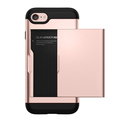 2017 shockproof phone tpu back covers for iphone 7 with card pocket,wallet case for iphne 7