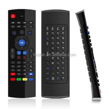 Fly Air Mouse Wireless Qwerty Keyboard Remote MX3 2.4g air mouse for android tv box