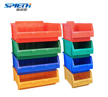 Industrial warehouse large stackable plastic storage bins