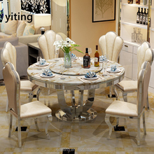Stainless Steel Wedding Dining Table for Sale
