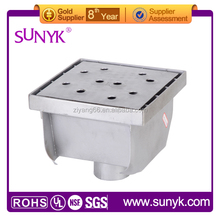 jinhua 4 inches stainless steel floor drain