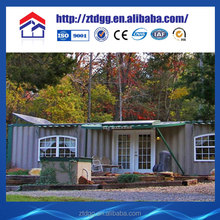 Light steel frame security cabin design from China manufacturer