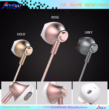 Sport Mobile phone accessories stereo in ear noise cancelling earphone for bangla movie song