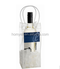 transparent plastic PVC wine bag