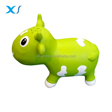 Bull Riding Moving Horse Inflatable Toys For Kids