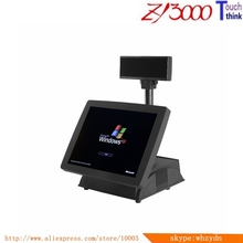 Top sale handheld pos terminal price with led panel customer display