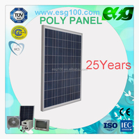High Efficency 100w polycrystalline silicon solar panel solar module