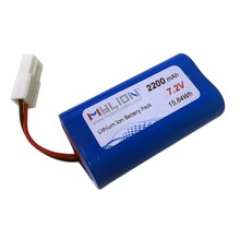 Small Rechargeable li-ion battery 7.2v 2600mah For Toy or RC Model From China Factory