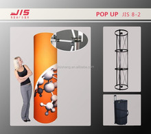 JIS8-2 new design 60*230cm customised display exhibition trade show usage aluminum pop up tower