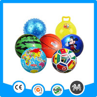 Yiwu wholesale inflatable plastic jumping ball