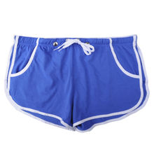 Custom Cotton Blend Mens Sport Running Shorts