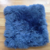 Comfortable Soft Long Hair Australian Sheepskin Seat Cushions For Stools