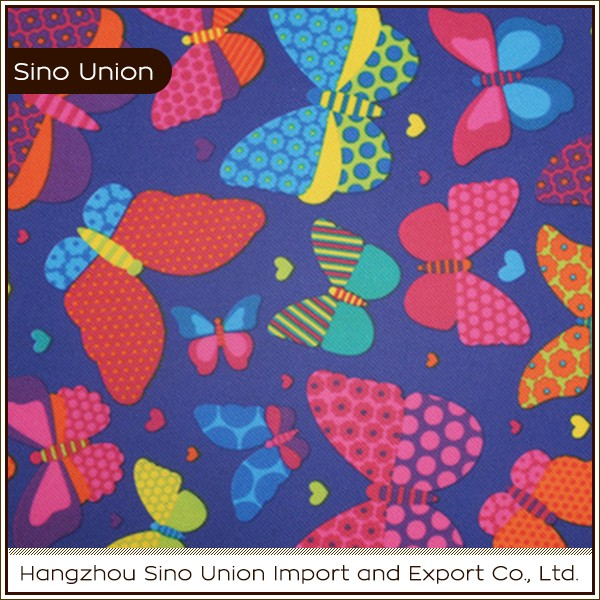Fashionable design high density woven polyester fabric animal print