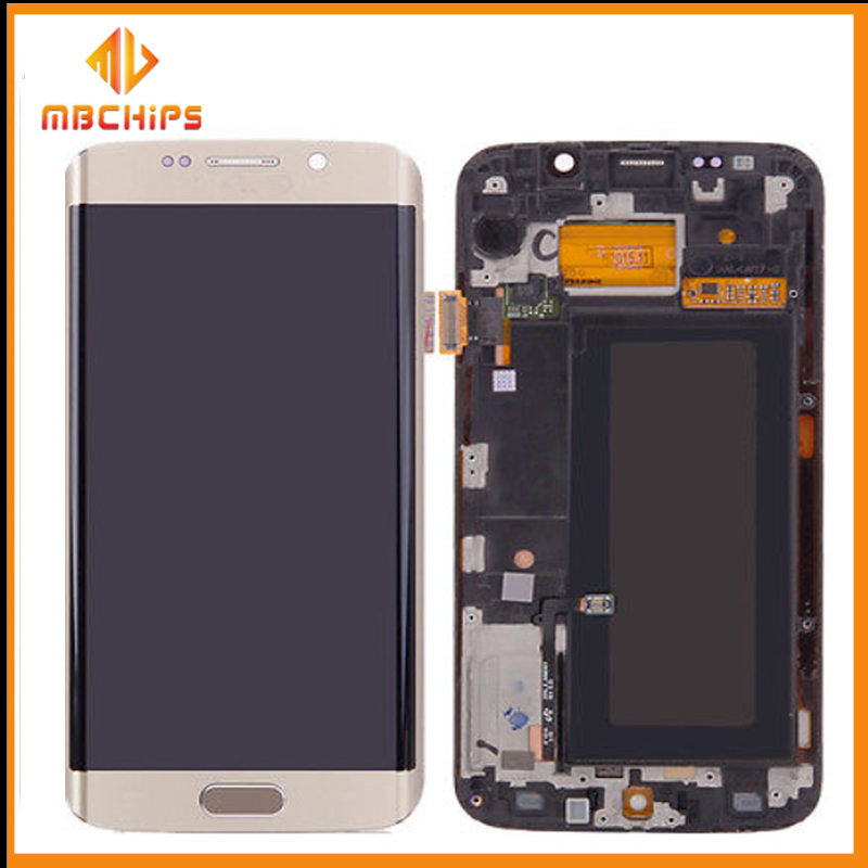 For samsung galaxy s6 edge lcd screen digitizer/ lcd for samsung galaxy s6 edge/ For samsung galaxy s6 edge Screen Replacement