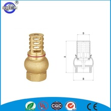 China whole sale forged cw617n flash vertical lift water checking bottom valves