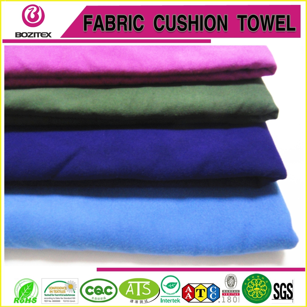 2015 New product China made high quality sport microfiber towel