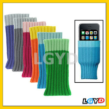 2013 eco-friendly Sock Cases for phone for iPhone 3G/3GS,iPod touch 3/ touch2(6 pcs in one packaging , the price is for 6 pcs)