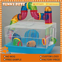 Luxury Hamster Pet Rats Cage Made With Steel and Plastic