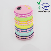 delicious colorful hamburg design silicone martial shockproof smartphone case