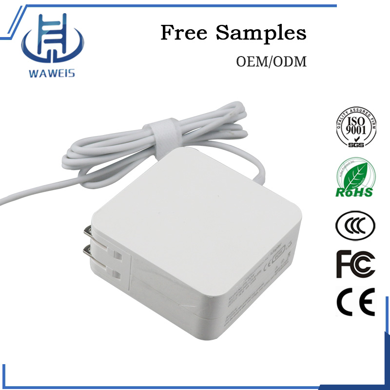 16.5V 3.65A Laptop adapter 45W 60W 85W AC DC Power Adapter for Apple MacBook Pro with CE ROHS FCC