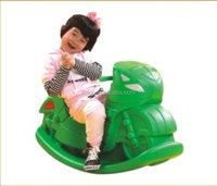 KAIQI GROUP hot sale motorcycle seesaw kids favorite plastic playsets