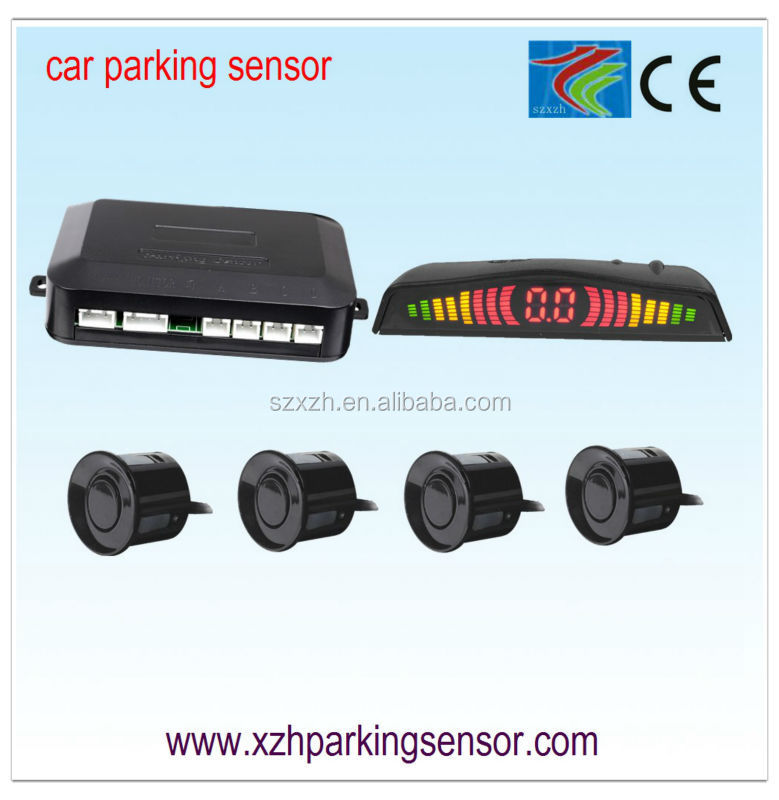 Colorful safe LED car parking sensor