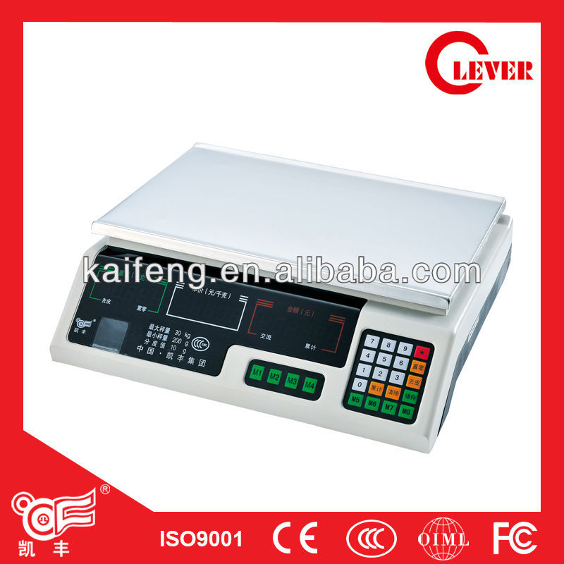 ACS Series Electronic Price Computing Scale C 30KG