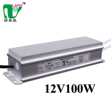ip67 waterproof electronic led 12v 100w dimmable bulb tube rgb driver led lighting power supply 12v dc