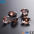 guojie brand Wholesale rhinestone Oval Shape chaton Factory For Garments Accessory Crystal Zirconia