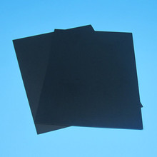 black pvc rigid sheet for industrial engneering plastic