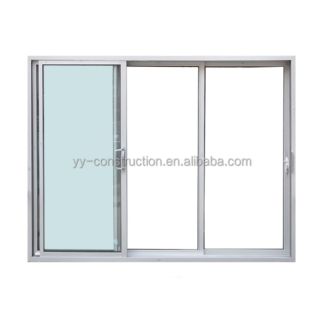 Australian Side Fix Sliding Glass Door with AS/NZS Double Glazing