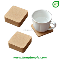 OEM eco friendly printing cork tea cup coaster, mug coffee pads, table mat