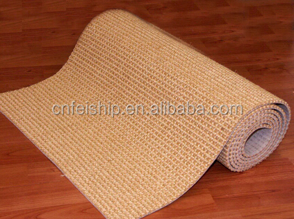 Cat scratching woven sisal fabric