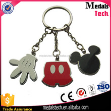2017 popular cheap custom antique metal funky keychain manufactures in china