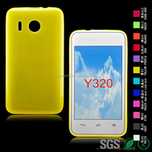 Inner scrub phone cover matte phone case for huawei Y320