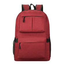 Korean style canvas backpack mulity colors bag hidden compartment bag