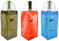 popular transparent Plastic PVC wine bottle bag
