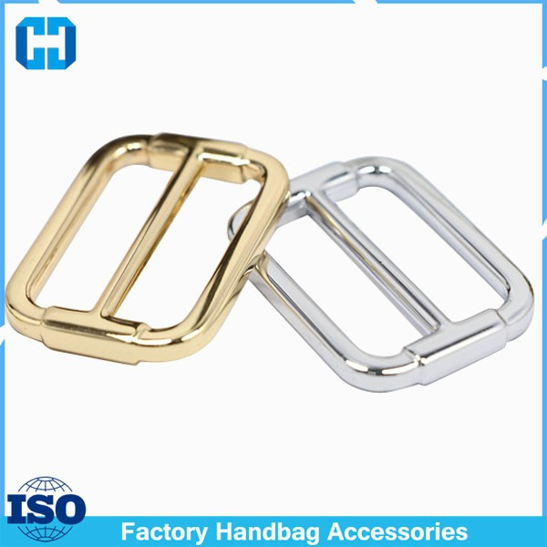 Wholesale Shoulder Bag Hardware Accessories Zinc Alloy Adjustable Triglide Buckle
