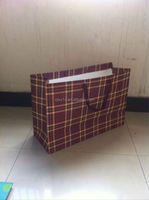 paper shopping bag brand name/ resealable zipper kraft paper bag/ kraft paper coffee bag
