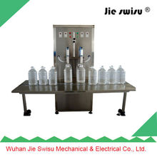 PET bottle and glass bottle garlic oil filling machine