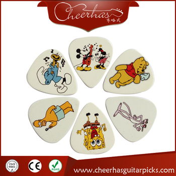 2017 Cheapest High Quality Cartoon Images Guitar Picks Free Samples Available