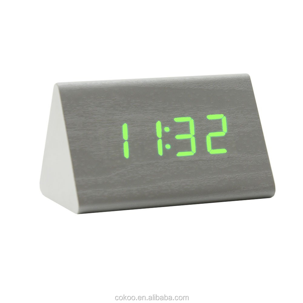 factory price wholesales led alarm clock radio dual projection led alarm clock