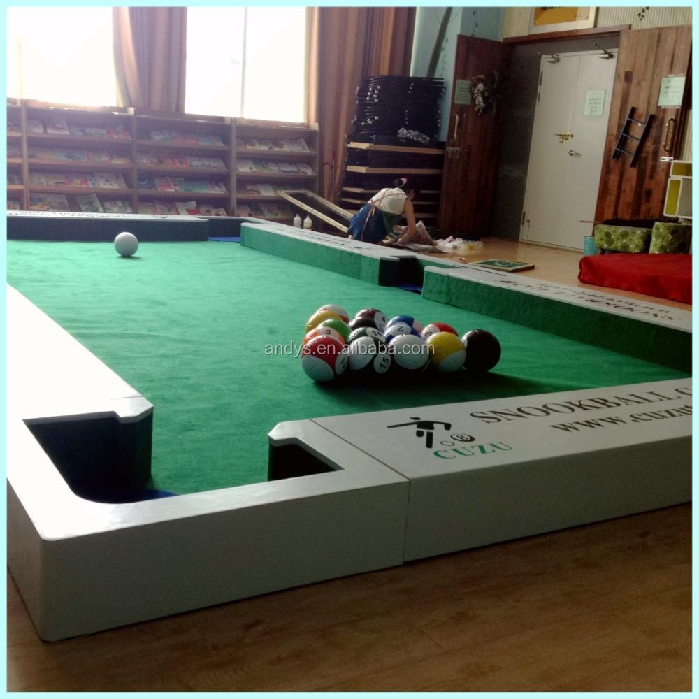 흰색 나무 소재 구조 snook 축구 공 snookball 테이블-기타 스포츠 및 ...
