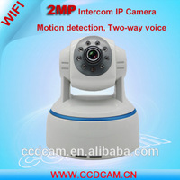 Night Vision Full HD 2 Megapixel PTZ IP Micro Camera Wifi Speaker Microphone Baby Monitor 1080P 360 Degree Wireless Camera