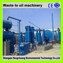 PLC control system waste plastic recycling equipment 50% high oil yield no pollution