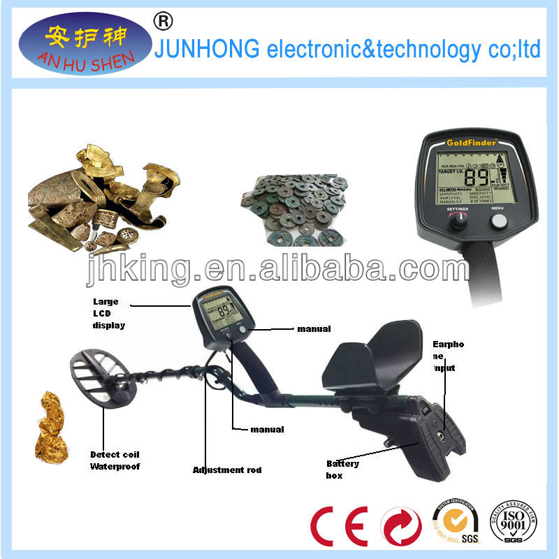 Used deep detection metal detectors detect gold