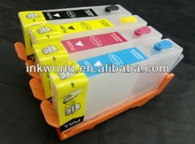 refillable ink cartridge for hp4615 hp5525 hp655 hp685 hp670