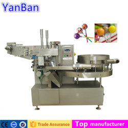 YB-120 Bunch wrapper, Ball Lollipop Automatic Wrapping Machine