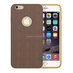 Wholesale wooden mobile phone case for iPhone 6 / 6 plus,100% natural walnut wood case from factory
